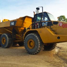 Cat740 Articulated Truck