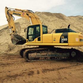 Excavator Komatsu PC350LC
