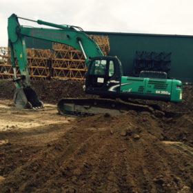 Excavator SK350