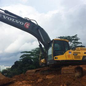 Excavator Volvo EC380