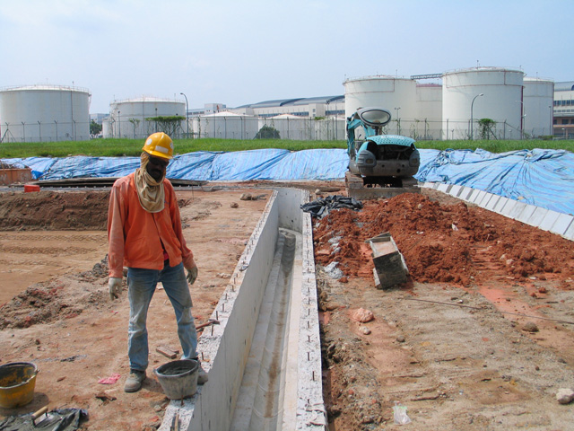 Construction Of Drain
