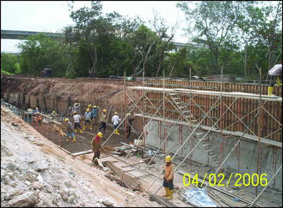 construction-of-retaining-wall-punggol-c9