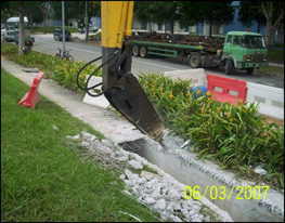 demolition-of-existing-drain-tampines