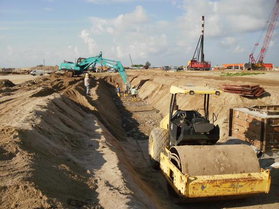Excavation Compaction