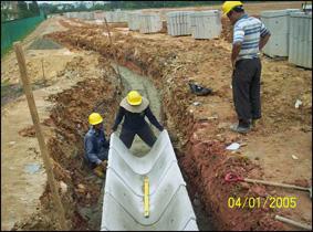 laying-c7-drains-sembawang-town